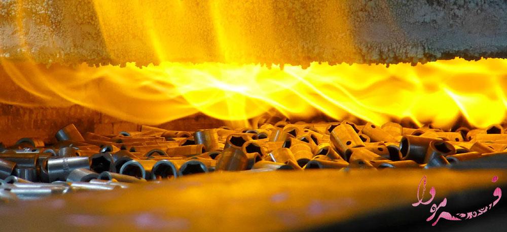حرارت روی آهن